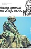 Beethoven String Quartet No. 4 in C minor, Op.18 no. 4 sheet music score (English Edition)