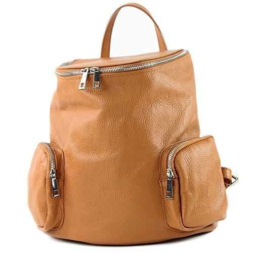 modamoda de - T175 - ital dames rugzak tas van leer