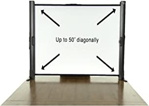 Epson ES1000 Ultra Portable Tabletop Projection Screen (V12H002S4Y),Black Case