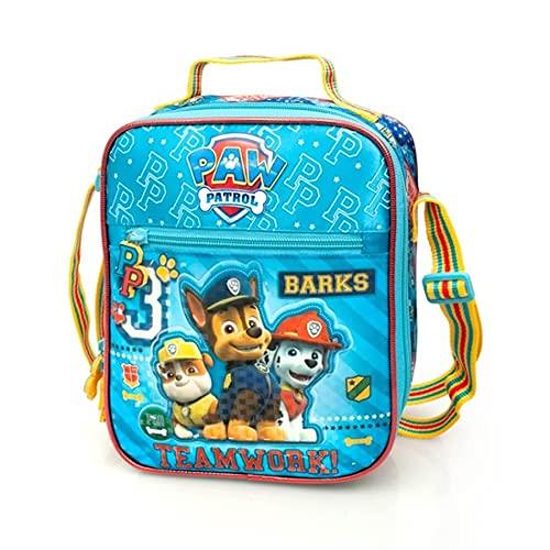 PAW Patrol Kindergartentasche Jungen Kinder-Tasche Lunchbag Umhängetasche Thermo-Brottasche