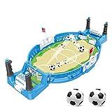 JDYDDSK Juegos de Mesa de fútbol de Mesa, Juegos de pies, Adecuado para Juegos Familiares, Power Shot Football Skills Board Board Juego para niños Adultos Mesa de fútbol,2 balles,L