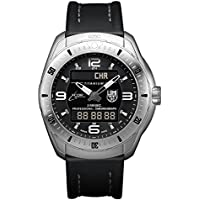 Luminox Xcor Space Expedition Titanium Case Black Leather Black Dial Silver Men's Watch