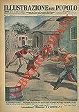 Il lanciatore di coltelli. Walter Hopkins stava provando il suo pericoloso numero con la moglie come bersaglio vivente quando un loro figlio ch'essi non vedevano da anni, correva d'improvviso verso