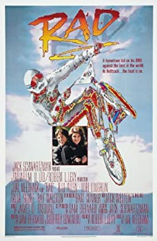 Rad Movie  1986  Poster 24 x36  Certified Sequential Holographic Sticker for Authenticity