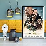 tgbhujk Klassische TV Serie Breaking Bad Poster Kunst