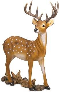 Danmu 1pc Polyresin Deer Statue, Garden Statues, Outdoor Statues, Garden Ornaments, Yard Statue for Home and Garden Decor, Garden Art, Yard Art (47 x 16 x 65cm / 18.5