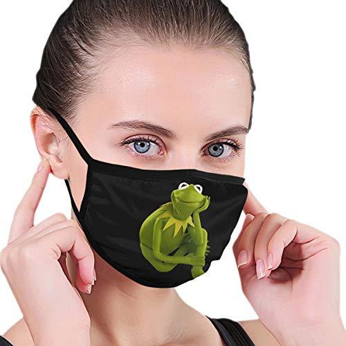 Renfkbgf Kermit The Frog Nahtloser staubdichter waschbarer Kopftuchmaske Wiederverwendbarer Schal
