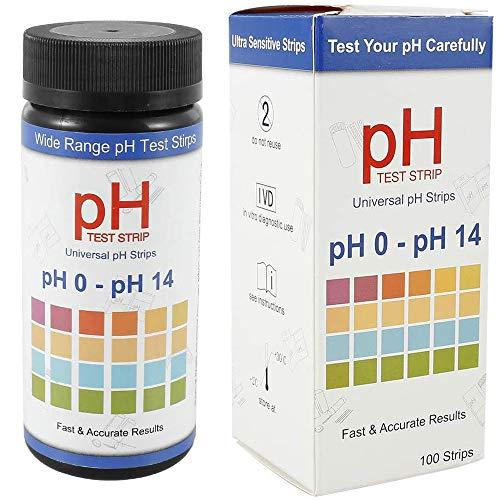 Home Holic Soil Test Strips, Soil Testing Kit Soil pH Test Kit 100 Tests PH...