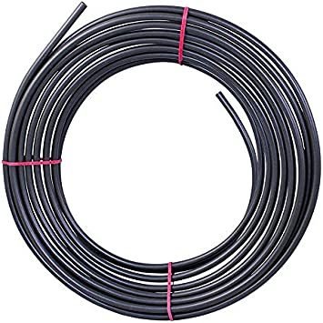 4LIFETIMELINES PVF-Coated Steel Brake, Fuel and Transmission Line Tubing Coil, 5/16 Inch, 25 Feet: image