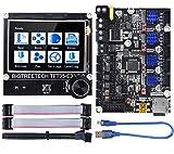 BIGTREETECH SKR Mini E3 V2.0 carte de contrôle 32 bits nouvelle mise à niveau pour Creality Ender 3 avec carte contrôleur graphique intelligente TFT35 E3 V3.0