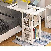 ホームリフォーム折りたたみ式コンピューターデスクコンピューターデスク高さ調節可能なコンピューターデスクカートベッドソファ用ラップトップデスクラップトップデスク(カラー:ブルーサイズ:60x40cm)