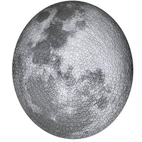EastMetal Luna Redonda Puzzl Arte de 1000 Piezas,67.5x67.5cm / 26.6x26.6in Puzzle Gigante para Adultos, Niños, Ilustraciones de Juegos de Rompecabezas Grandes