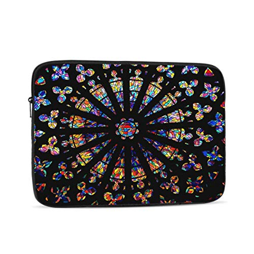 Macbook Air 1466 Case Church Stained Glass Windows Colors Heritage Macbook Air Case Multi-Color & Size Choices 10/12/13/15/17 Inch Computer Tablet Briefcase Carrying Bag