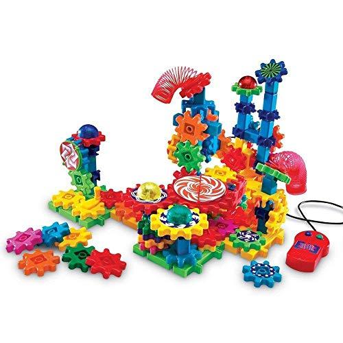 Learning Resources- Set de construcción con Luces y acción Gears, Color (LER9209)