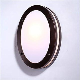 LZBD Lámpara de jardín con Estilo, lámpara de jardín, con luz de Seguridad,