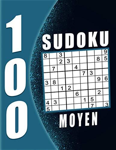 Sudoku Grand Père Moyen: 100 Grilles avec solutions, Sudoku Adulte Gros Caractère  Grand Taille. (French Edition)