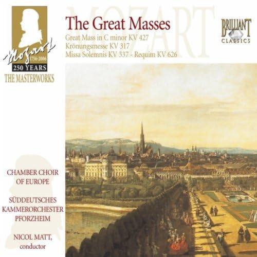 Chamber Choir of Europe, Nicol Matt & Südwestdeutsches Kammerorchester Pforzheim