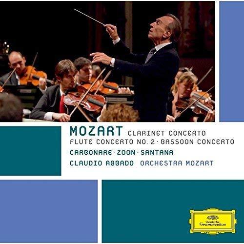 モーツァルト:クラリネット協奏曲、フルート協奏曲第2番、ファゴット協奏曲