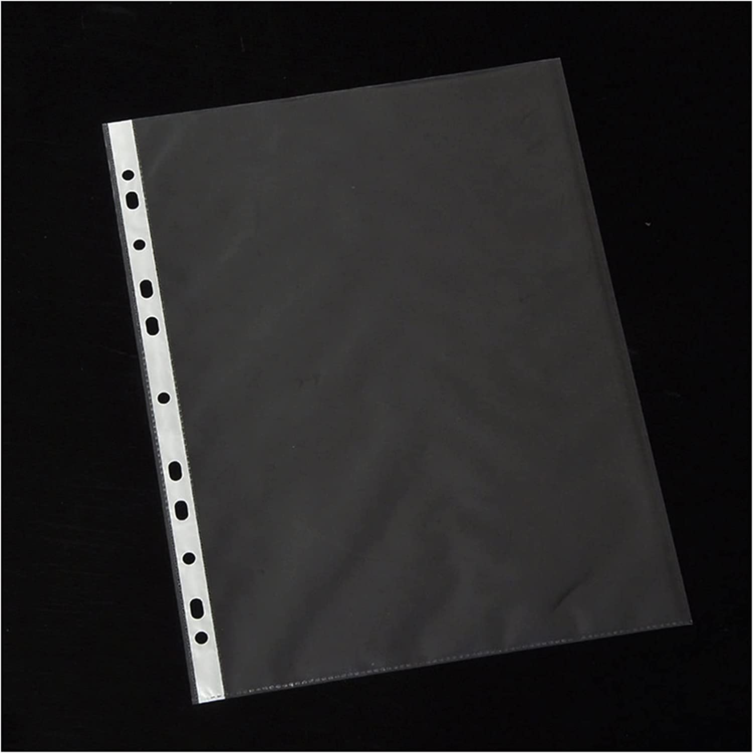 Sheet Protectors for 3 Ring Binder Plastic sold out Time sale 100Pcs A4 Po Punched
