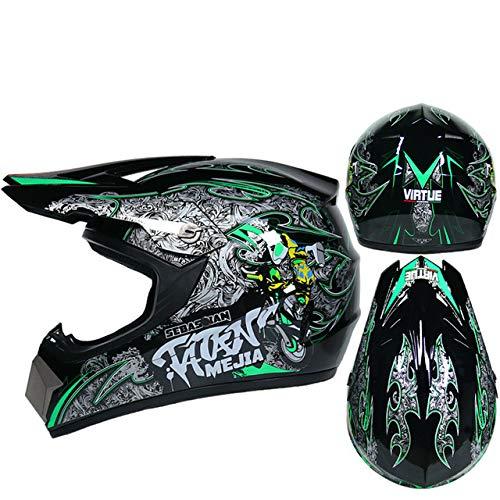 Motorrad Helm Kinder Offroad Helm Fahrrad Downhill Cross Helm Kapazität Motocross Casco-a44-M