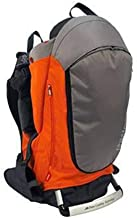 BJYX Child Carrier Foldable Multifunctional Adjustable Stroller with Awning for Outdoor Hiking Traveling Camping Maximum Load 20 Kg,Orange