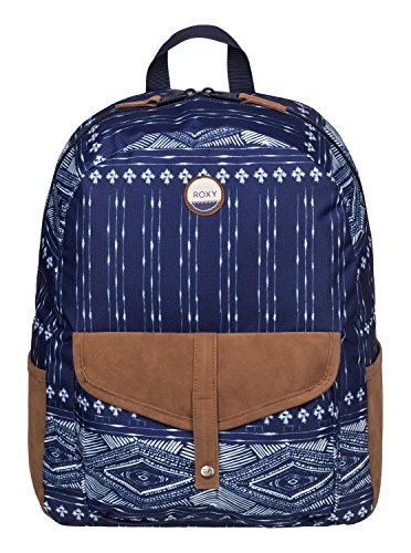 Roxy Damen Backpack Carribean J, blau, 14 x 33 x 46 cm, 18 Liter, ERJBP03269-BSQ6-1SZ