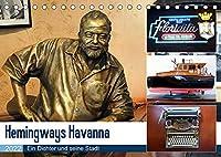 Hemingways Havanna - Ein Dichter und seine Stadt (Tischkalender 2022 DIN A5 quer): Auf Hemingways Spuren in der kubanischen Hauptstadt (Monatskalender, 14 Seiten )