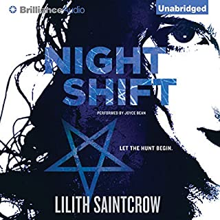 Night Shift audiobook cover art