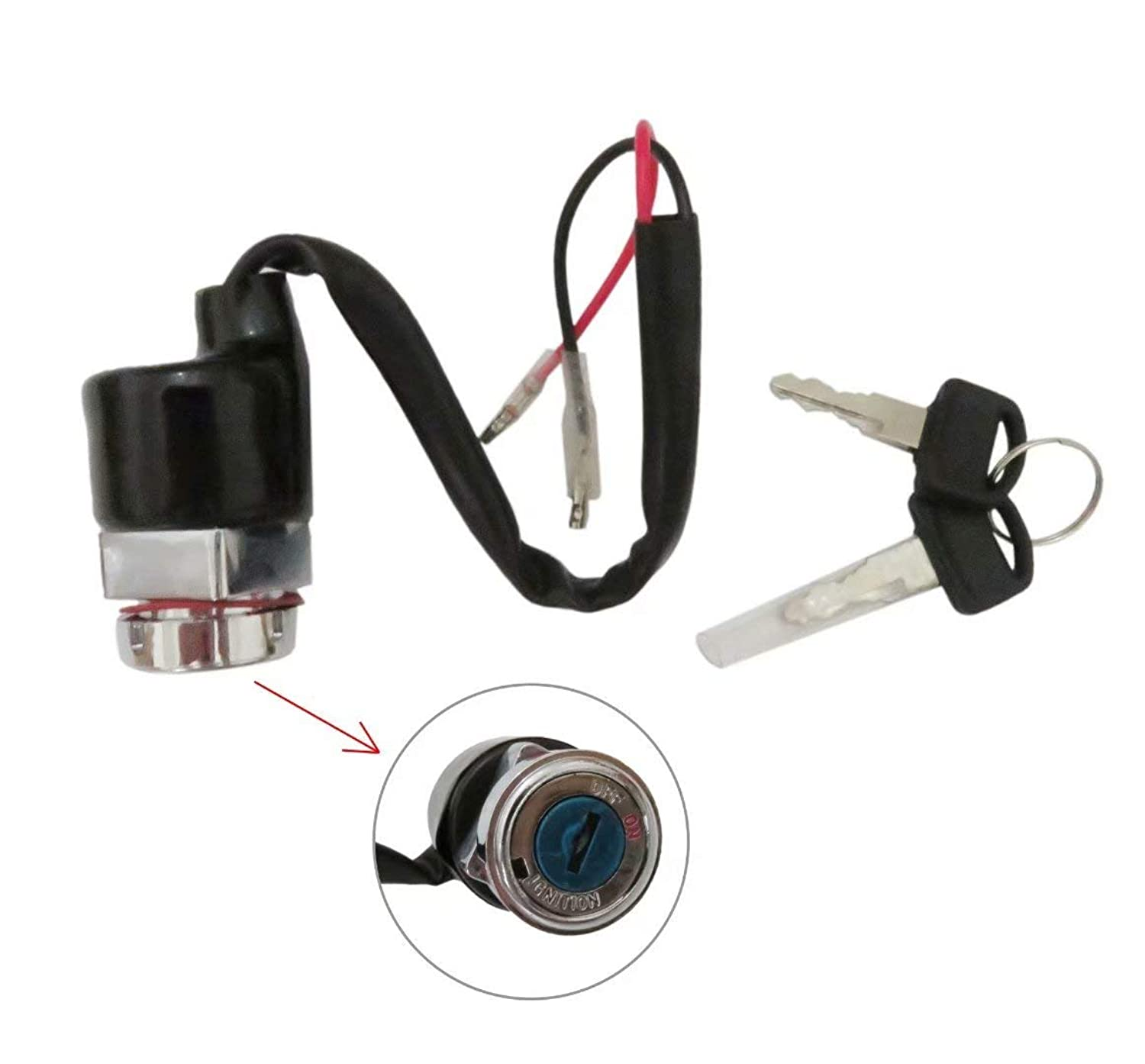 Ignition Switch Fits Honda Replaces OE #35010-111-671, 35010-028-010, 35100-324-761, 35100-324-760