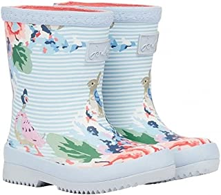 Joules Girl's Baby Welly Print Rain Boot
