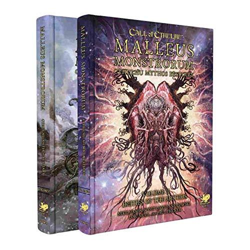 Call of Cthulhu: Malleus Monstrorum Cthulhu Mythos Bestiary Two Volume Slipcase Set