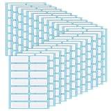 Étiquettes de Dossier Étiquette de Nom Adhésif Étiquette de Bouteille Rectangle Blanc Étiquette de Prix...