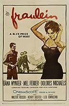 Fraulein POSTER Movie (1958) Style A 27 x 40 Inches - 69cm x 102cm (Dana Wynter)(Mel Ferrer)(Dolores Michaels)(Margaret Hayes)(Theodore Bikel)