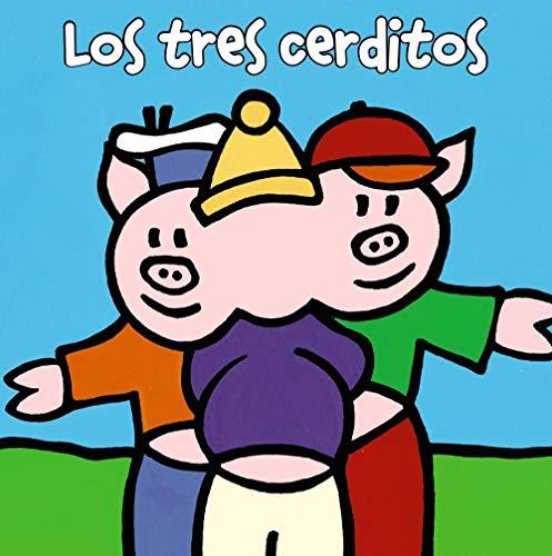 Los tres cerditos (Castellano - A Partir De 0 Años - Manipulativos (Libros Para Tocar Y Jugar), Pop-Ups - Librodedos)