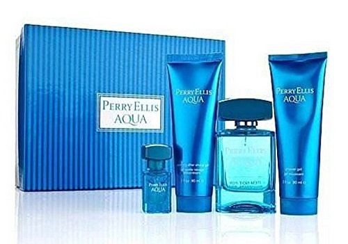 Perry Ellis Aqua set 4 piezas de PERRY ELLIS