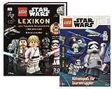 Buchspielbox Lego Star Wars – Juego de figuras Lexikon, naves espaciales y droides, a partir de 6 años