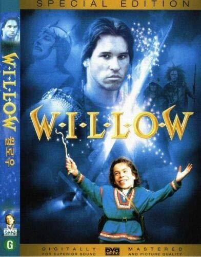 Willow (1988 DVD) Val Kilmer, Joanne Whalley, Warwick Davis