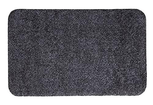 andiamo Schmutzfangmatte Samson waschbare Fußmatte für den Innenbereich, 40 x 60 cm anthrazit
