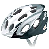 Catlike 0116050 Casco de Bicicleta, Unisex adulto, Blanco / Plata, M 55-58 cm