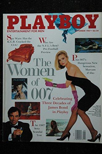 PLAYBOY US 1987 09 INTERVIEW JOHN SCULLEY THE WOMEN OF 007 Gwen Hajek John Sculley