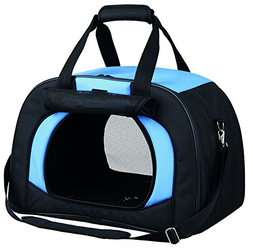 Trixie 28952 Tasche Kilian, 31 × 32 × 48 cm, schwarz/blau