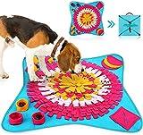 HezzLuv Alfombra Olfativa Perros, Juguetes Interactivos De Inteligencia para Perros, Alfombras para Perros Dog Sniffing Mats, para El Entrenamiento del Olfato Y La Alimentación Lenta