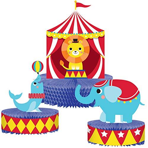 Tafelaufsatz Zirkus Tiere ct