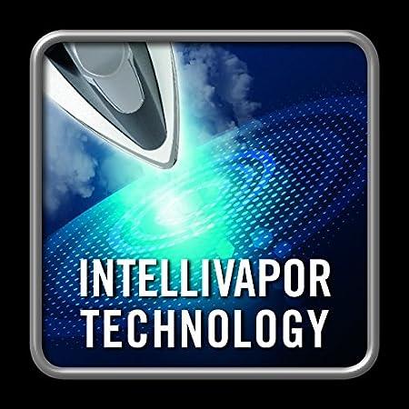 Tecnologia a Risparmio Energetico Tecnologia Intellivapor Imetec Intellivapor K5 Ferro da Stiro a Vapore Piastra in Acciaio Inossidabile da 2400 W