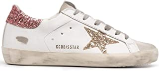 Golden Goose Luxury Fashion Donna GWF00101F00101080780 Bianco Pelle Sneakers | Stagione Permanente