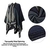 Zoom IMG-1 vbiger sciarpa donna poncho capes
