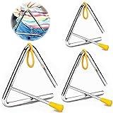 TriáNgulo Musical Instrumento De PercusióN Infantil Instrumento Triangular Percusion...