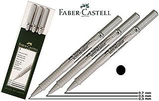 Faber-Castell Ecco Pigment Fibre-Tip Pen 0.3/0.5/0.7mm