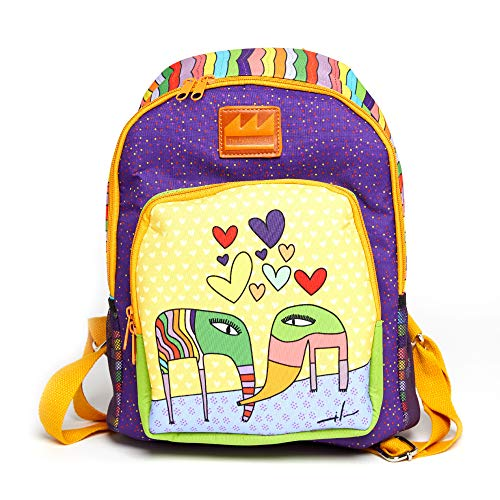 Fashion Milo Lockett art backpack/bookbags women/girls/teen/men. School bag/travel/college/small laptop waterproof back pack. Womans computer carry on bags/backpacks.Anti-theft lightweight (mochila)