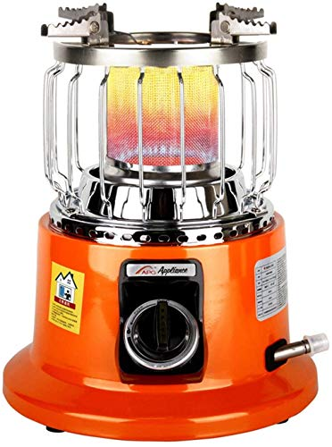 Miwaimao - Estufa de gas para camping, portátil, ajustable, para casas, radiadores, estufas de gas, calefacción de gas natural, gas natural